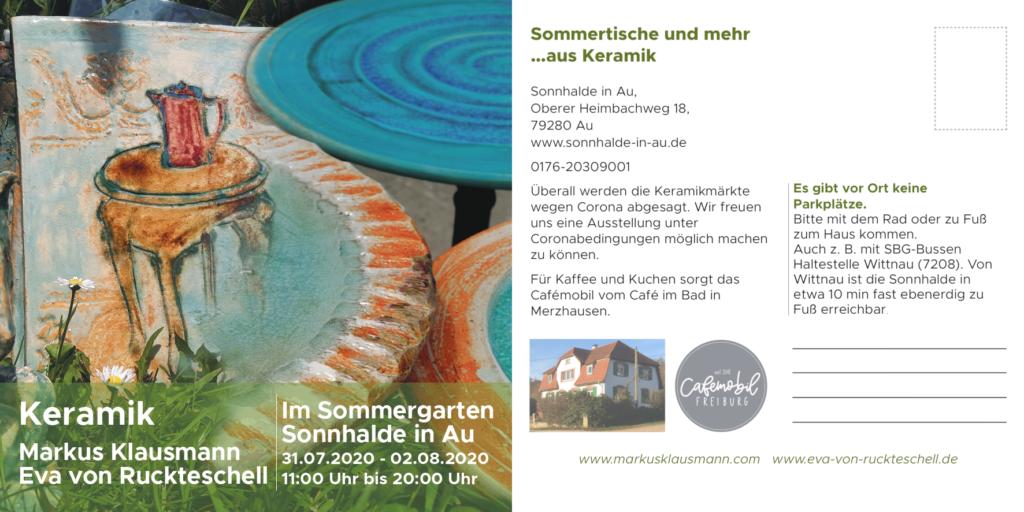 Ausstellung bei Eva von Ruckteschell
